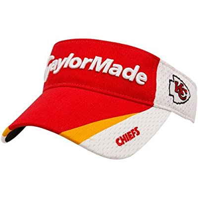 TaylorMade Kansas City Chiefs Red-White 2010 Adjustable Visor
