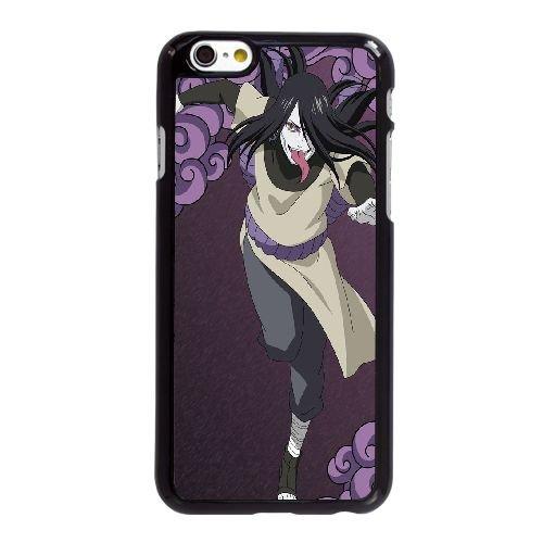 O5O42 orochimaru Naruto Shippuden K7N2DL coque iPhone 6 Plus de 5,5 pouces cas de couverture de téléphone portable coque noire IJ1DXE6UO