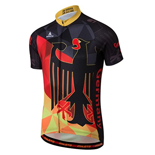 Uriah Men's Cycling Jersey Short Sleeve Reflective for sale  Delivered anywhere in Canada