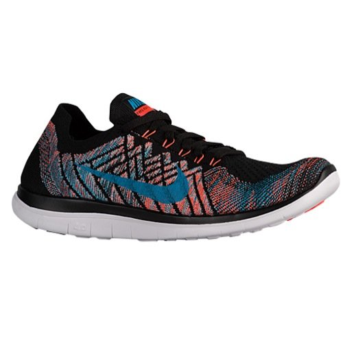 Nike Free 4.0 Flyknit Sz 11 Mens Running Shoes Black New In Box