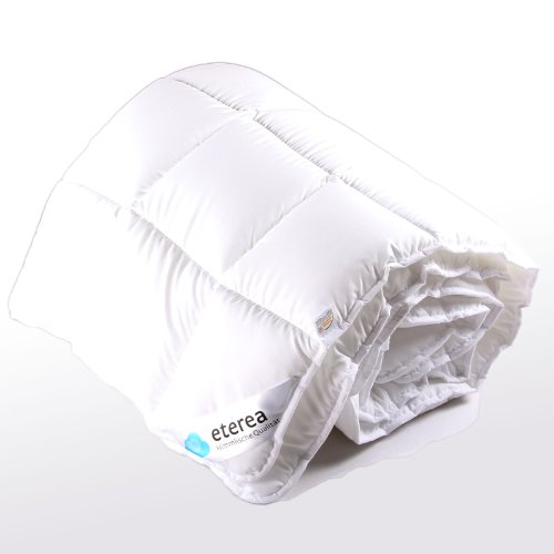 etérea Microfaser Steppbett Steppdecke Decke 135 x 200 cm, Gesamtgewicht: 1900g, extra warm, Winter, Made in Germany