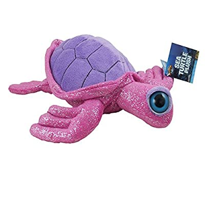 Adventure Planet Plush - Turtle ( Pink - 12.5 inch ): Toys & Games