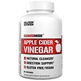 Evlution Nutrition Apple Cider Vinegar CleanseMode, 500mg of Pure Apple Cider Vinegar to Help Digestion & Cleansing, 60 Serving Capsules with 20mg of Cayenne Pepper to Help Support Weight Management* For Sale