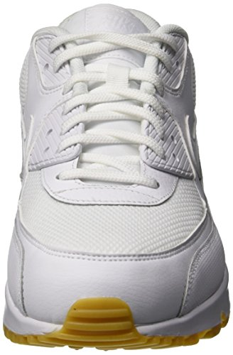 Femme Gum 001 Max Multicolore Chaussures NIKE Light Fitness Air 90 WMNS Brown White White de Pqwf60w