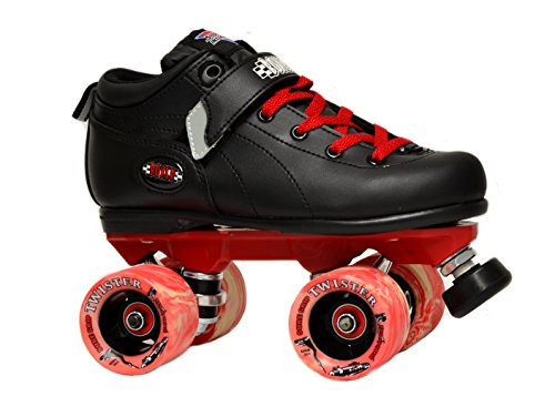 (Sure-Grip Boxer Red Raider Roller Skates (8) )