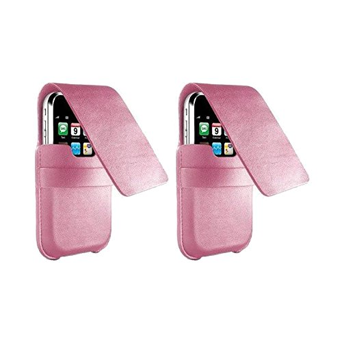(DLO DLA40070 SlimFolio Case for iPod Touch 1G, 2G, 3G; iPhone 1G, 3G (Pink) - Buy One, Get One Free)