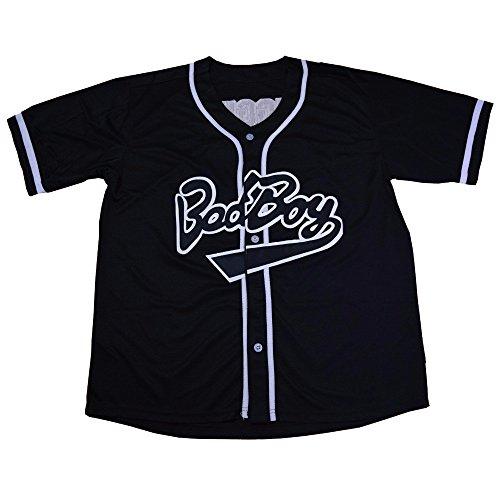 Bad Boy Biggie Smalls Baseball Jersey #10 - Jersey Baseball Boy