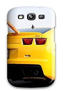 Ultra Slim Fit Hard Cody Elizabeth Weaver Case Cover Specially Made For Galaxy S3- Beautiful Car Girl