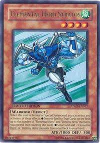 Ultra Rare Limited Edition He JUMP-EN012 Yugioh HP Elemental Hero Stratos