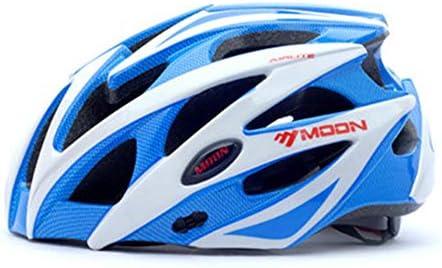 Zavddy-SP Casco de Bicicleta Montaña Adultos y RoadCycling Cascos con ala Desmontable Ajustable Protección Seguridad Deportiva Ware Carretera de la Bici de montaña del Casco de cicli (Color : Blue): Amazon.es: Hogar