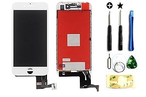 Pantalla LCD de repuesto para Apple iPhone 7 Plus en blanco, 4.7 ...