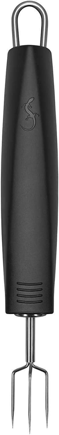 Lurch Germany Tango Potatoe Peeling Fork 7.1 Inches - Black