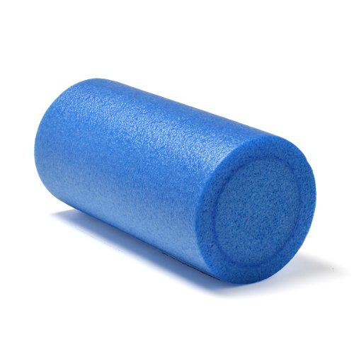 Sivan Health and Fitness Full Round Foam Roller (Blue, 12-Inch)