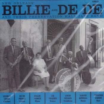 Billie and De De and Their Preservation Hall Jazz Band by Preservation Hall