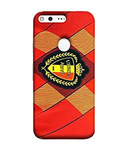 ColorKing Football Belgium 06 Red shell case cover for Google Pixel