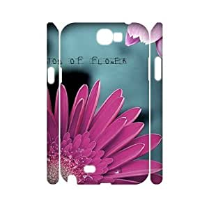 Petals Brand New 3D Cover Case for Samsung Galaxy Note 2 N7100,diy case cover ygtg516676