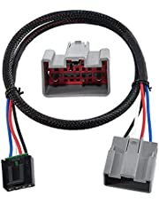 RED WOLF Vans Brake Control Wiring Adapter Harness Connector for 2009-2019 Ford F-150/Flex, Lincoln Fit Brake Controller to Towing Hitch Trailer Motorhome