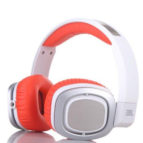 JBL J55i , Auriculares de diadema cerrados (control remoto integrado, impedancia 32 Ohmios, cable extraíble), naranja y blanco Amazon.es Electrónica