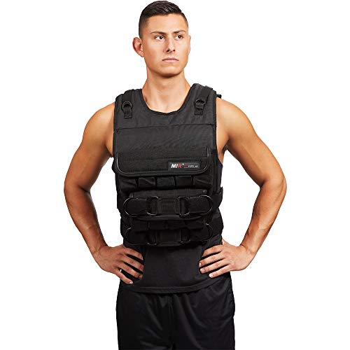 MIR® - 140LBS PRO (LONG STYLE) ADJUSTABLE WEIGHTED VEST (Hidden Weighted Vest)