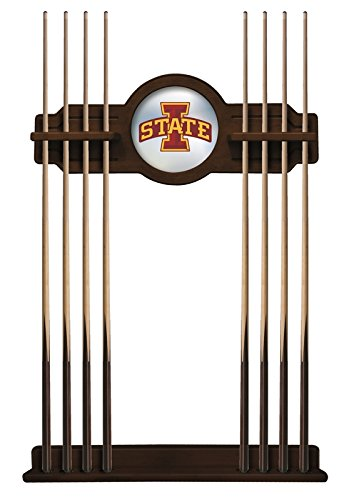 Iowa State Cue Rack in Navajo Finish by Holland Bar Stool Co.