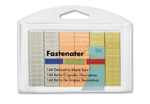 EK Success Fastenater 1/2 Inch Staple Bar Value Pack 144/Package, (Ek Success Decorative Staple Bars)