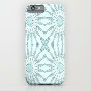 Society6 - Aqua Breeze Pinwheel Flowers iPhone 6 Case by 2sweet4words Designs
