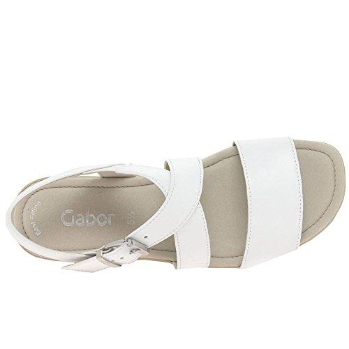 Gabor Jenya Womens Sandalias Casuales Blanco