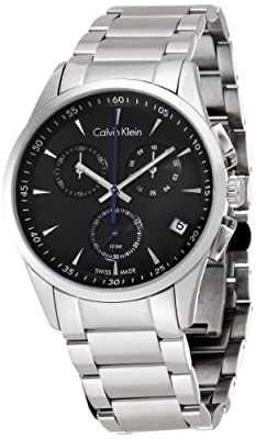Calvin Klein Mens BOLD Chronograph Watch K5A27141