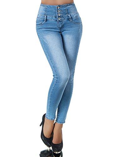 Uni Jeans Skinny Femme Jeans Bleu Diva tfq0p7