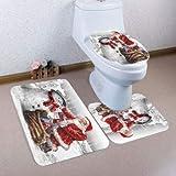 Lid Toilet Cover Fabric Standard Elongated Green - 1PCs