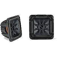 Kicker L7S Solo-Baric 10 2400 Watt 4 Ohm DVC Square Subwoofer (Pair) | 44L7S104