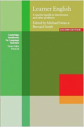 Learner English Amazon Co Uk Michael Swan Bernard Smith