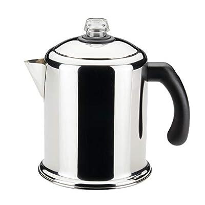 Farberware Classic Stainless Steel Yosemite Coffee Percolator