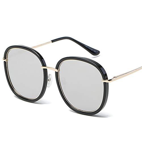 metal de gafas elegantes Gafas minimalistas NIFG retro de de sol sol redondas wPYfpxUqB