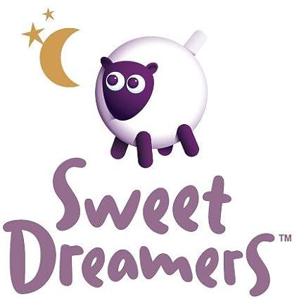 Sweet Dreamers Ewan Deluxe Capteur de pleurs et sucette de sommeil lavable