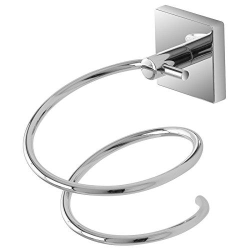 FERIDRAS Easy Porta asciugacapelli, Cromo, 14x14x9 cm, Brand 959011