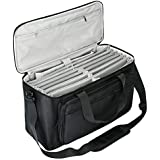 BUBM Large Travel Gig Band Cable File Bag,with double separate bags, Musical instrument Cable & Accessories Organizer…