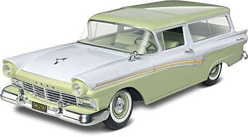 (Revell S4193 854193 1/25 57 Ford Del Rio Ranch Wagon 2n1)