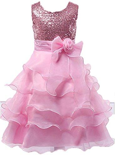 Pink Ruffled Dress - 2