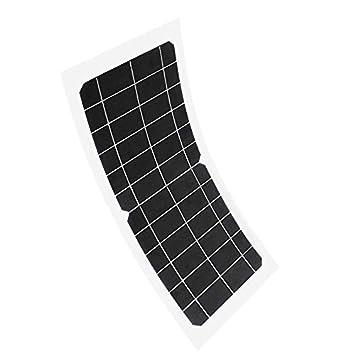 SODIAL Panel Solar 10W 12V Cargador de Batería Sistema de ...