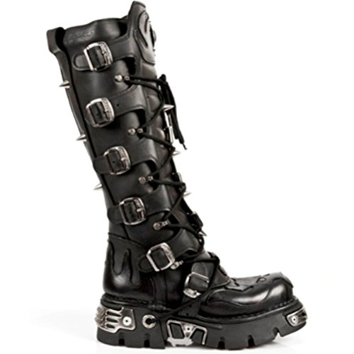 NEWROCK New Rock Stivali Stile M.161 S1 Nero Unisex Reactor