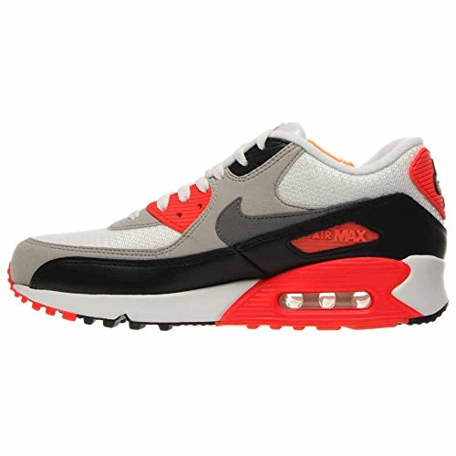 the latest c1e24 61e75 ... Nike Air Max 90 Og Hommes Formateurs 725233 Chaussures De Tennis  Chaussures Blanc-infrarouge ...