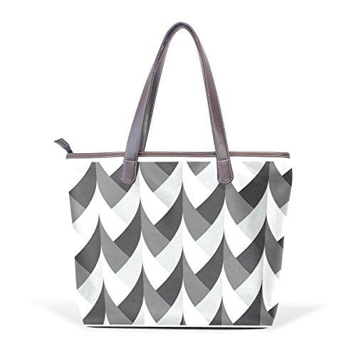mrweng-household-black-white-and-grey-plaits-lady-handbag-tote-bag-zipper-shoulder-bag
