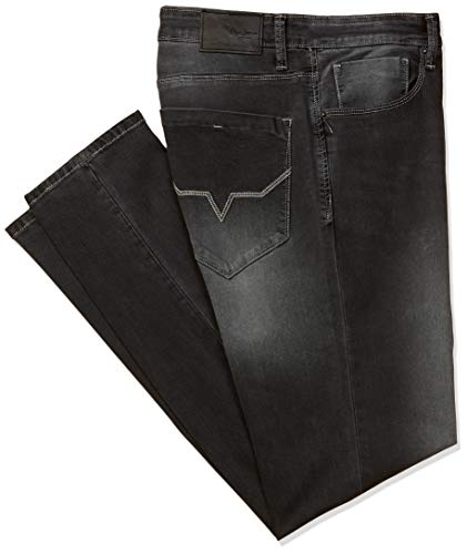 Pepe Jeans Men's Relaxed fit Jeans 2021 August Care Instructions: Machine Wash Fit Type: Relaxed Color name: Black