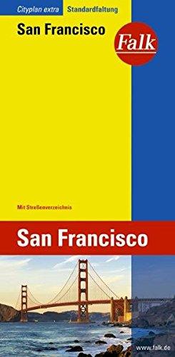 Falk Cityplan Extra Standardfaltung International San Francisco mit Straßenverzeichnis