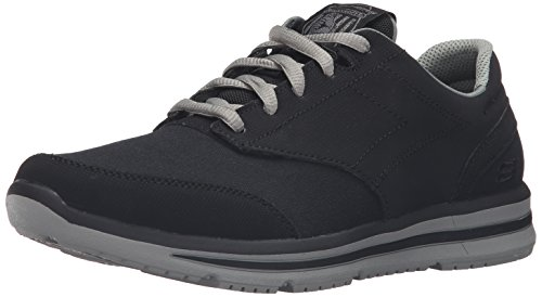 Oxfords Skechers Athletic (Skechers USA Men's Doren Mercier Oxford,Black,11 M US)