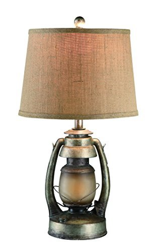 Cheap Crestview Lighting CIAUP530 Oil Lantern Table Lamp