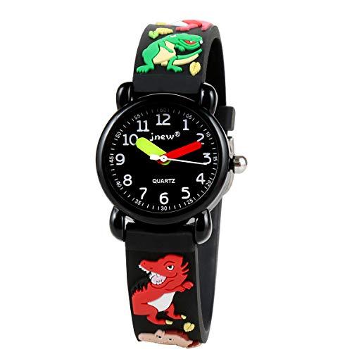 Sun-Team Kids Watches, 3D Cute Cartoon Digital Sport Watch Silicone Wristwatches Best Gift for 3-10 Year Old Girls Boys