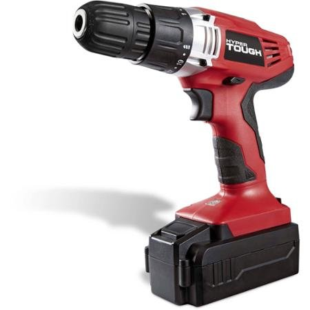 Hyper Tough 18V Ni-Cd Cordless Drill With Electric Brake And LED Work Light