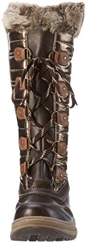 Marco Tozzi 2-2-26237-27, Botas de Nieve Para Mujer Marrón (Copper Comb 946)
